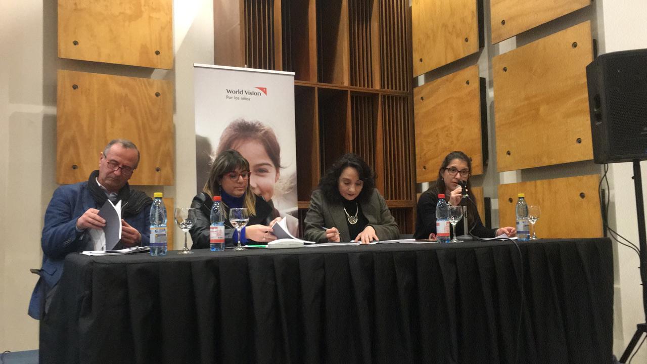 World Vision hace lanzamiento de su estudio sobre Modelos Culturales de Crianza en Temuco y Chillán