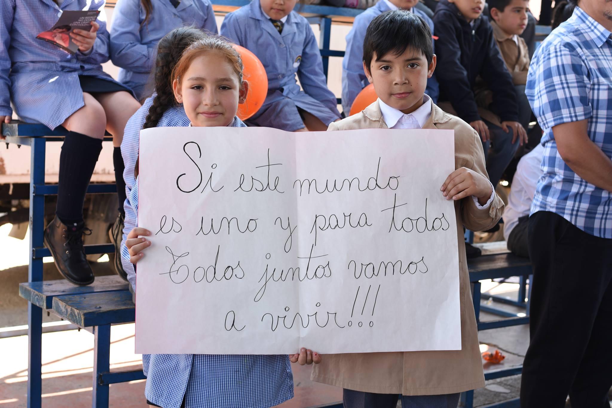 Todos juntos en la Conmemoración de la Convención de los Derechos del Niño