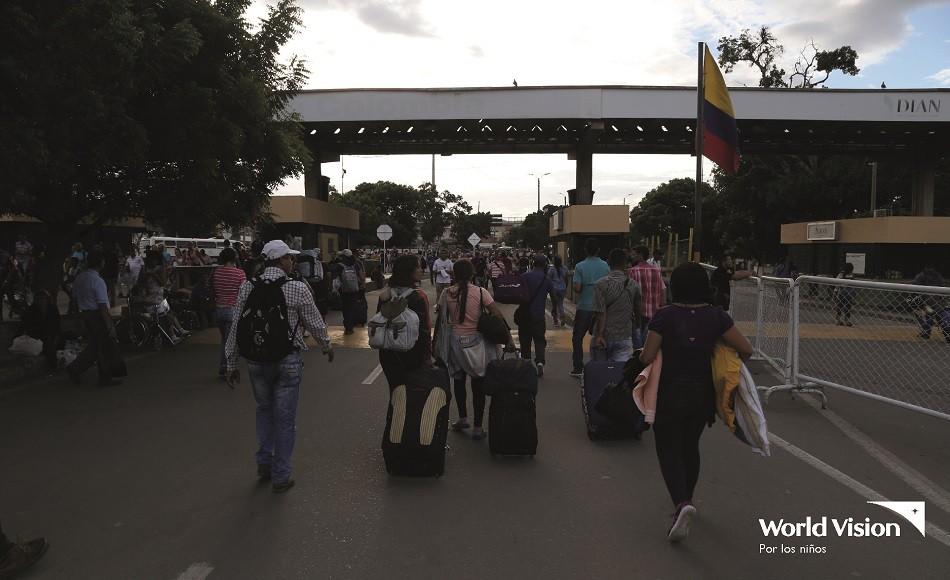 World Vision prevé creciente migración de Venezuela