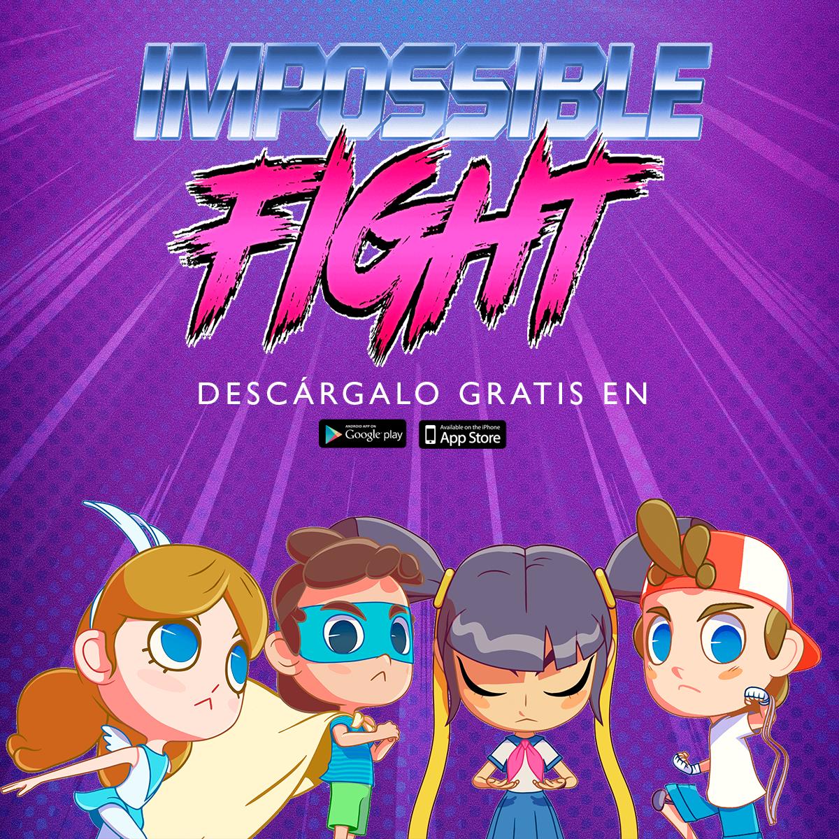 Afiche Impossible Fight