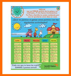 Calendario Actividades para Niños (Bolivia)