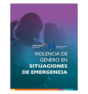 Violencia Género Situaciones de Emergencia